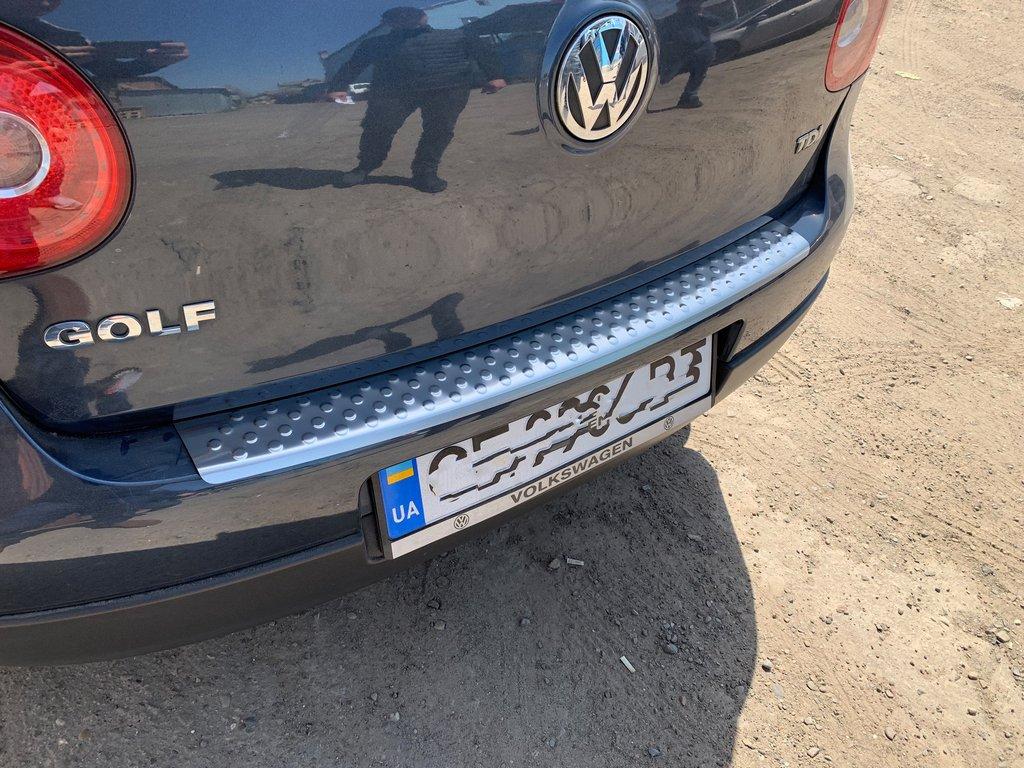 Volkswagen Golf 5 Накладки на задний бампер...