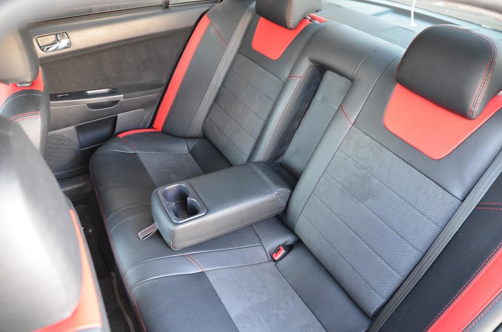 Авточехлы Elegant Leather Style (Экокожа) (черный) для ...