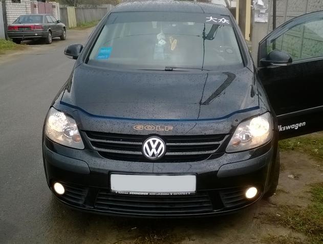 Volkswagen Golf Plus Дефлектор капота (VIP)